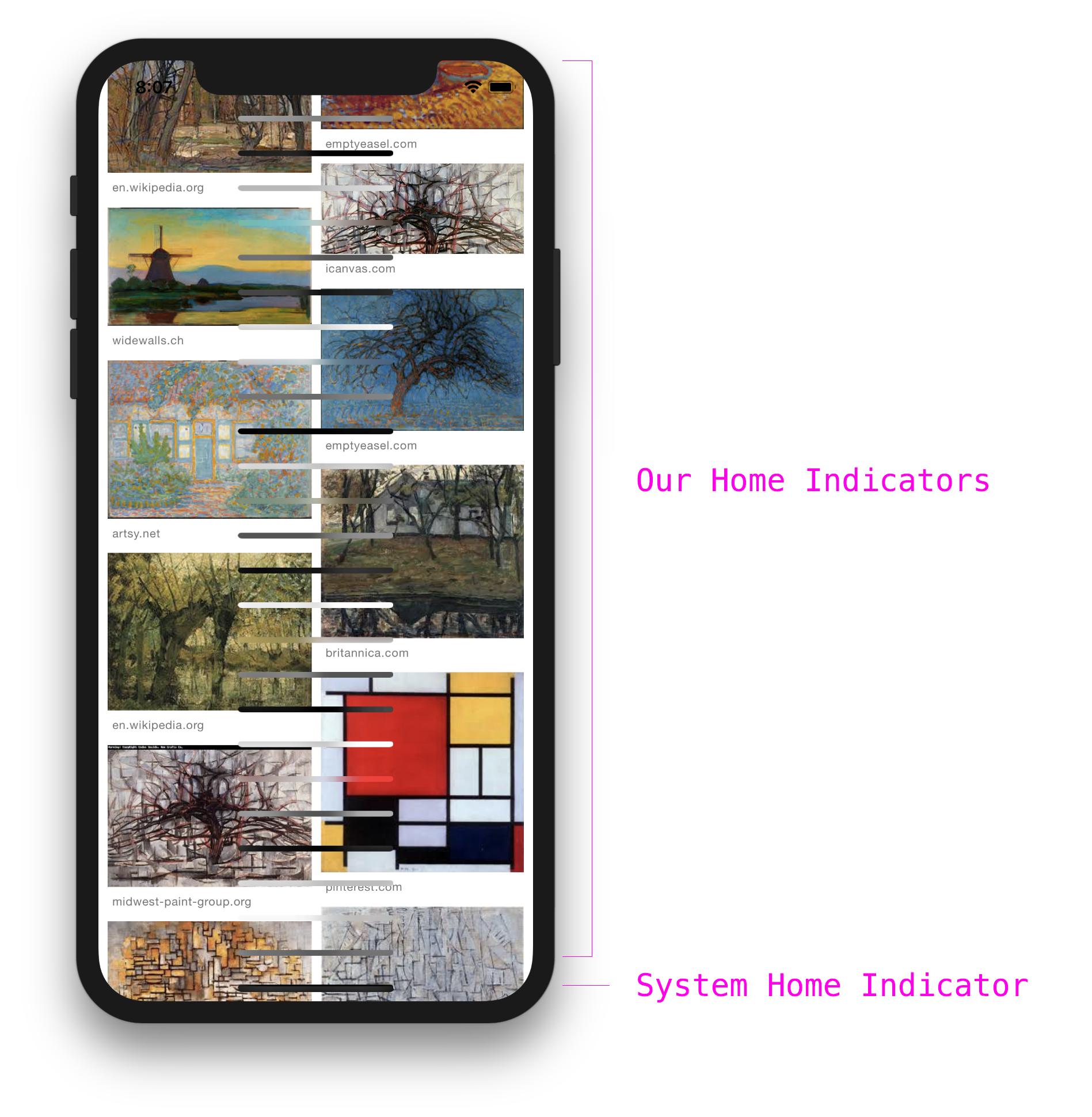 Sash Zats - iPhone X home button
